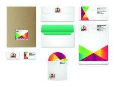 公司标识信封名片模板VI模板