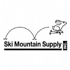 山的滑雪场供应