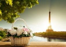 唯美巴黎 巴黎 鐵塔圖片
