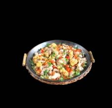 平锅鱼杂图片