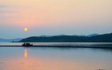 黄昏 日落图片