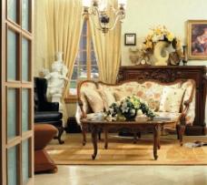简单欧式沙发
