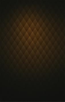 咖色棕色几何图形海报背景素材