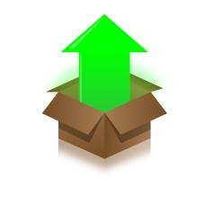 盒子矢量图