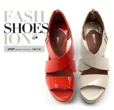 高端女鞋广告