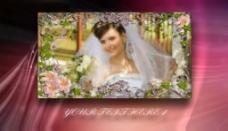 婚礼开场AE片头电子相册模板