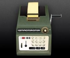 老式传真机PSD图片素材