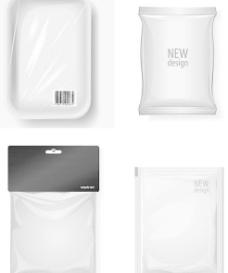 塑料袋包装矢量素材