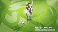 韩国世界杯宣传海报PSD分层