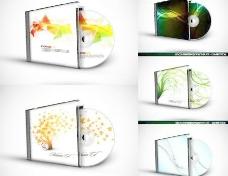 CD光碟包装矢量图