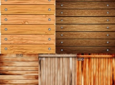 长条木板背景矢量素材
