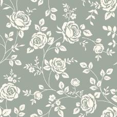 复古玫瑰花背景矢量素材