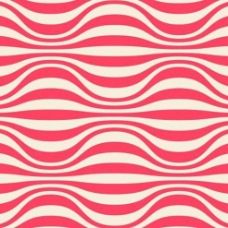 粉色波纹背景矢量素材