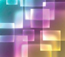 炫丽方块光效背景矢量素材