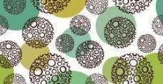 彩色圆圈组合背景矢量素材