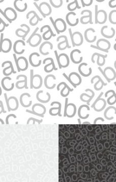 小写英文字母背景矢量素材