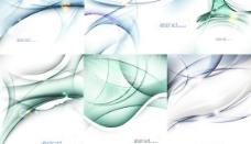 动感流线交织背景矢量素材