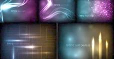 炫光线条光效背景矢量素材