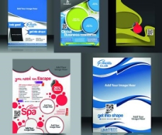 创意画册设计矢量素材