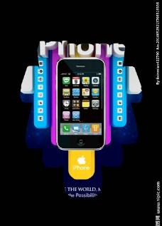 iPhone手机创意图片