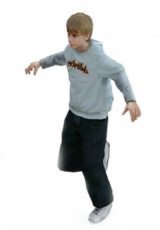 3DMAX男孩模型