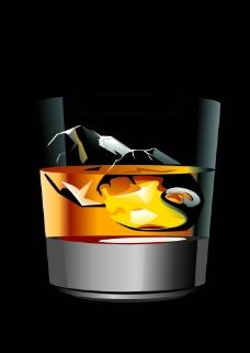 洋酒杯图片