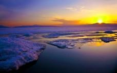 夕阳 黄昏图片