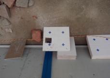 厕所铁水沟侧壁地砖图片