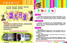 宠物店彩页图片