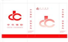中华保险手提袋矢量图片