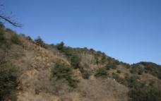 徒步爬山图片