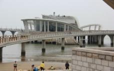 烟台天马栈桥图片
