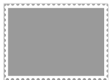 邮票边框图片