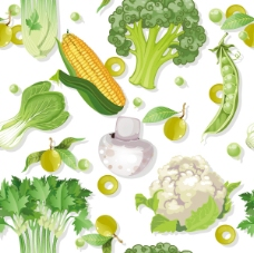 新鲜蔬菜菜