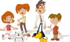 卡通人物小狗图片图片