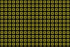金黄边花纹图案图片