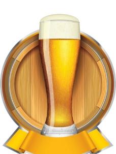 啤酒酒桶酿酒图片