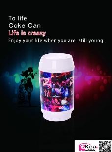 可乐罐杯海报图片