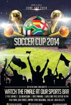 巴西世界杯海报广告图片