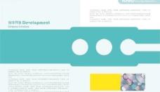 科技产品软件开发画册PSD分