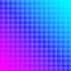 彩色方格渐变