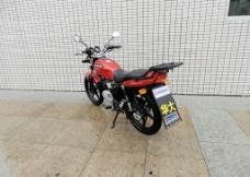 摩托车HJ125KA红图片