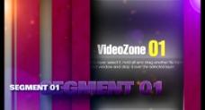 彩色条纹视频展示