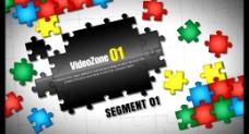 拼图商务视频展示