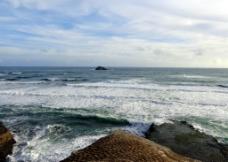 新西兰鸟岛风光图片