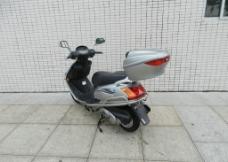 摩托车HJ100T-7C灰色图片