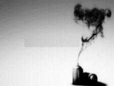 烟雾PPT模板