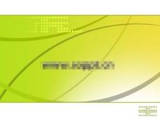 绿色背景PPT模板
