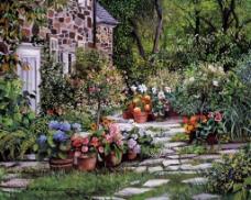 安静的院子