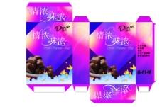 德芙巧克力包装盒设计